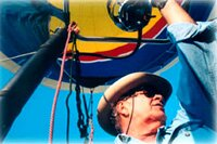 Bill Whidden is a hot air balloon pilot with over 30 years experience